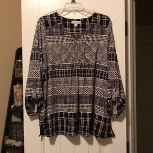Buttery soft ladies blouse size XL - new with tags